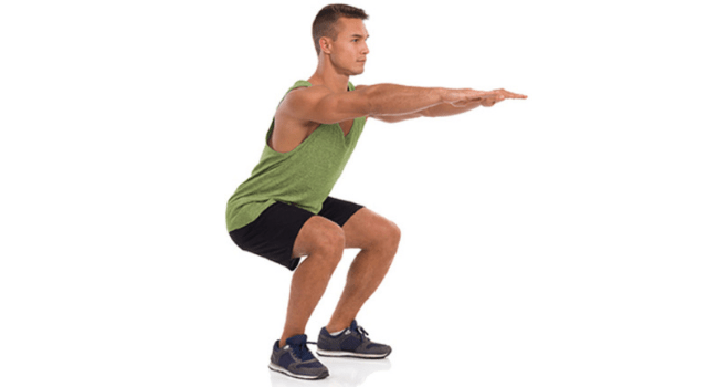 Squats - Simple Exercises To Do At Home For Beginners