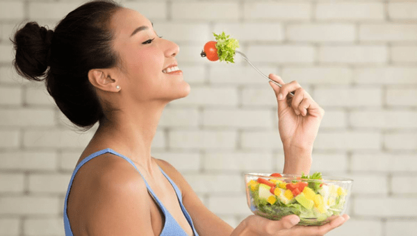 eat plenty of vegetables at every meal
