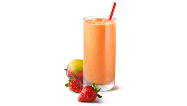 Strawberry and Mango Juice