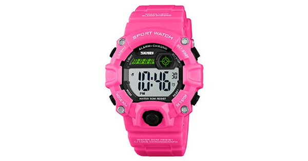 Camouflage LED Kids Sport Watch