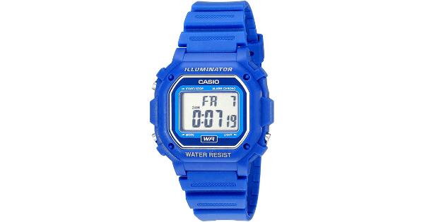 Casio Digital Water Resistant Watch