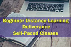 Beginners Distance Learning Deliverance Self-Paced Classes