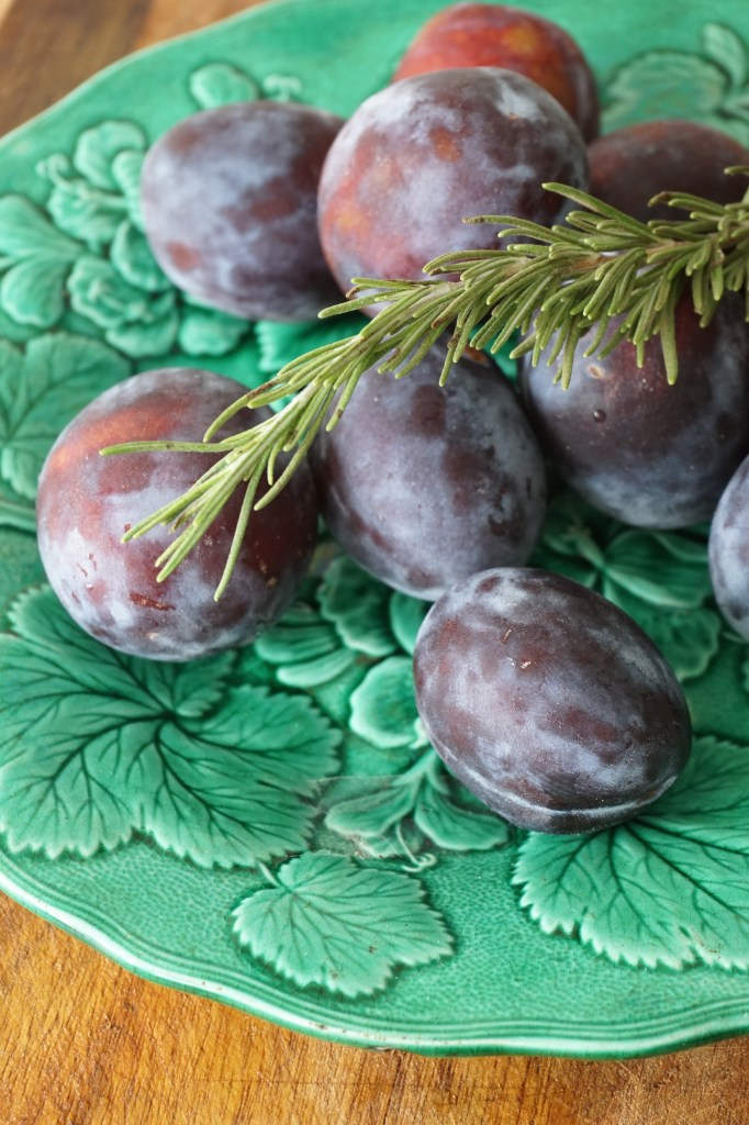 rosemary plum compote - Healing Family Eats