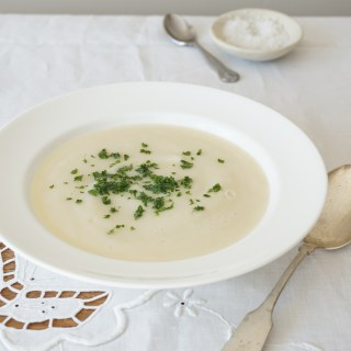 Celeriac + Pear Soup {AIP}