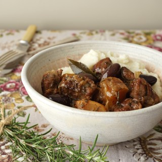lamb, olive and rosemary stew - AIP