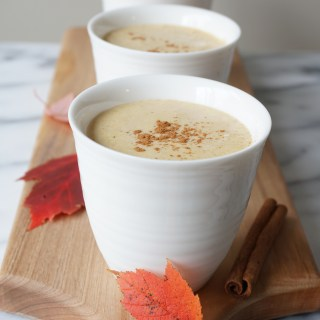 Maple Pumpkin Collagen Shake {AIP, Paleo}