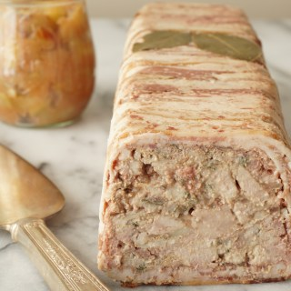 Pork + Chicken Liver Terrine with Spiced Apple Compote - Healing Family Eats