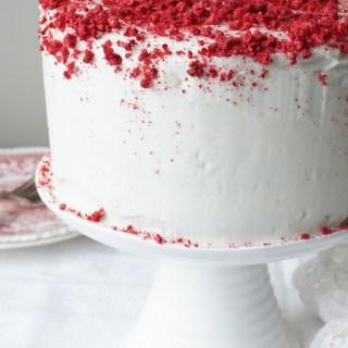 Raspberry Valentine Cake {AIP, GAPS, SCD, Paleo}