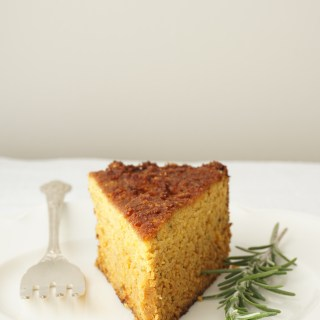 Rosemary Roasted Butternut Cake {AIP, Paleo}