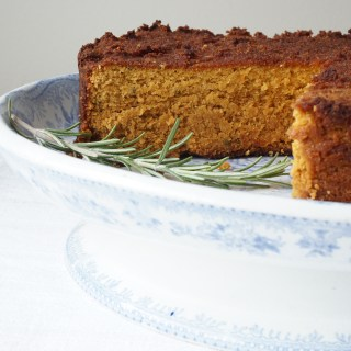 rosemary roasted butternut cake - Healing Family Eats