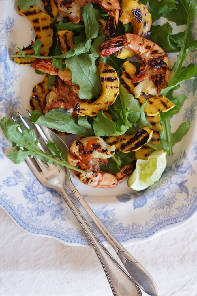 Chargrilled Prawns + Herb Oil - HFE