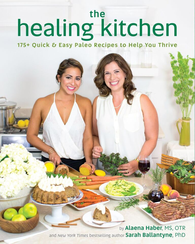 The Healing Kitchen cover