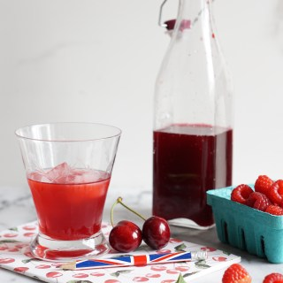 Cherry and Raspberry Cordial {AIP, GAPS, SCD, Paleo}