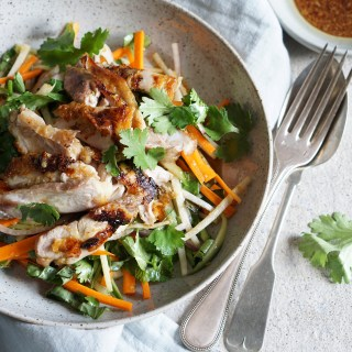 Vietnamese Shredded Chicken Salad {AIP, GAPS, SCD, Paleo}