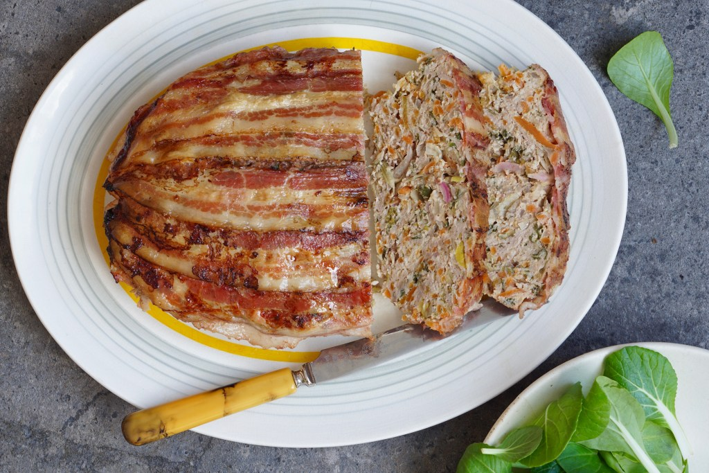 Hidden Veggie Meatloaf with Chicken and Lamb
