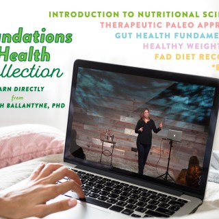The {Paleo Mom's} Foundations of Health Collection – A Four-Course Giveaway!