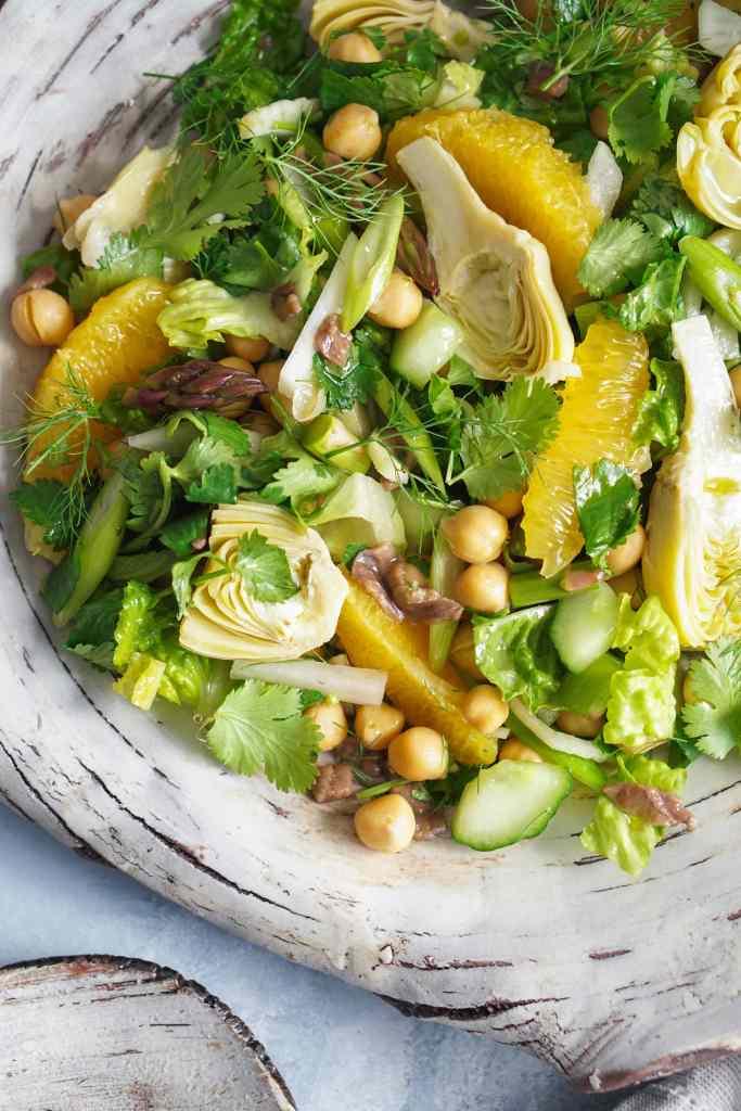 AIP Chickpea Orange Salad