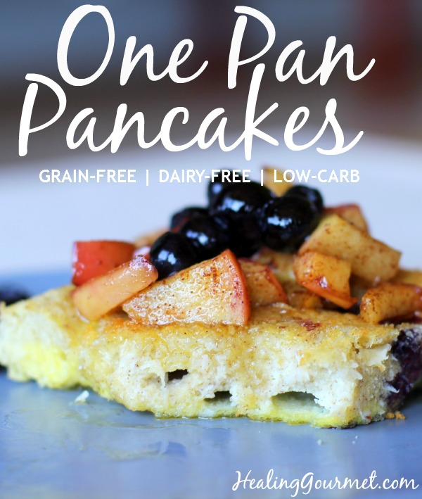German One Pan Pancakes - Pinterest