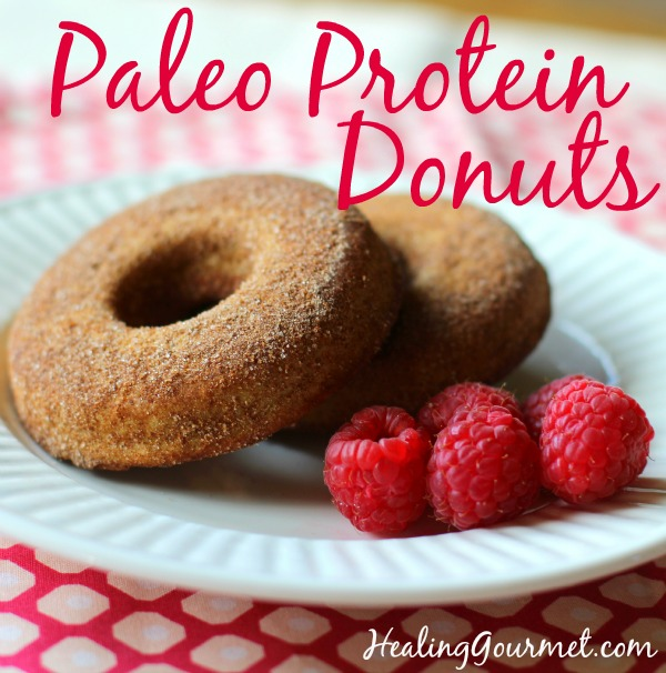 Quick and delicious Paleo donuts - gluten free, dairy free, low carb deliciousness