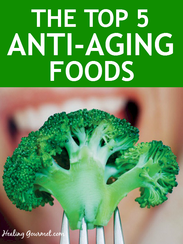 Eat foods that boost glutathione to stay young