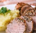 Slow-Cooker Pork Roast with Garlic, Rosemary & Lemon