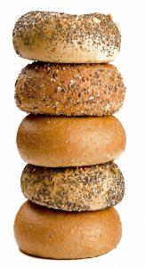 gluten in bagels