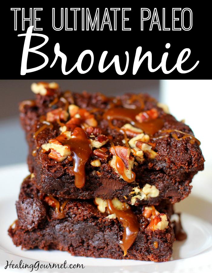 Egg Free Paleo Brownies - Healing Gourmet