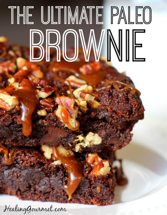 Ultimate Paleo Brownie - Healing Gourmet