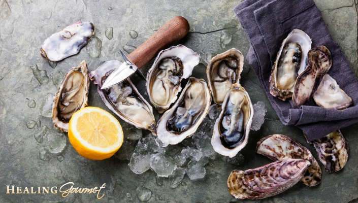 An Image of the Health Benefits of Oysters