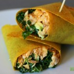 5 Minute Paleo Curry Chicken Salad Wraps