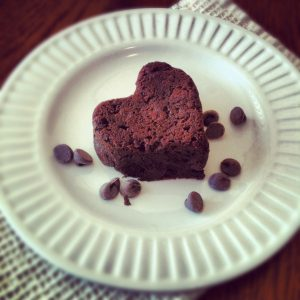 Image of Black Forest Heart Paleo Brownie Recipes