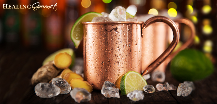 Discover how to create a healthier Moscow Mule at home!
