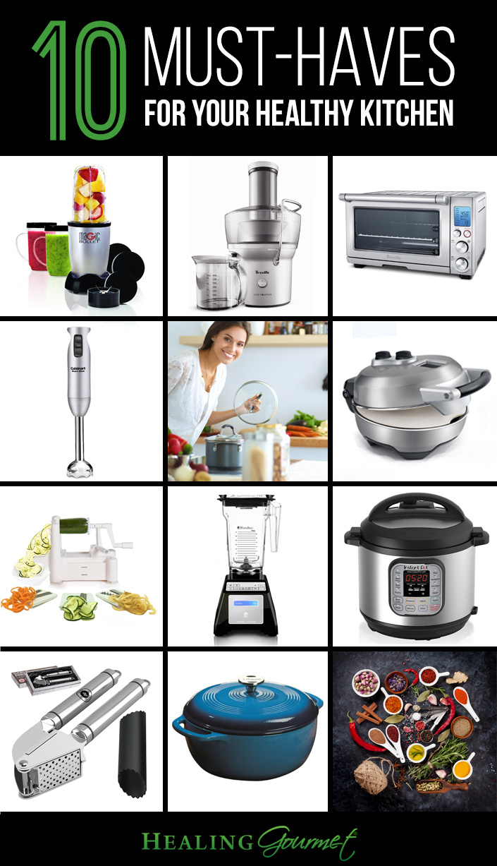 Cook healthier, tastier food (in less time!) with the help of these 10 best kitchen appliances.