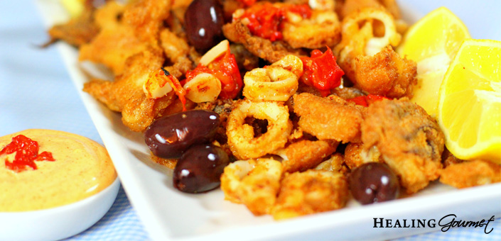 A delicious calamari recipe that's free of gluten and grains!