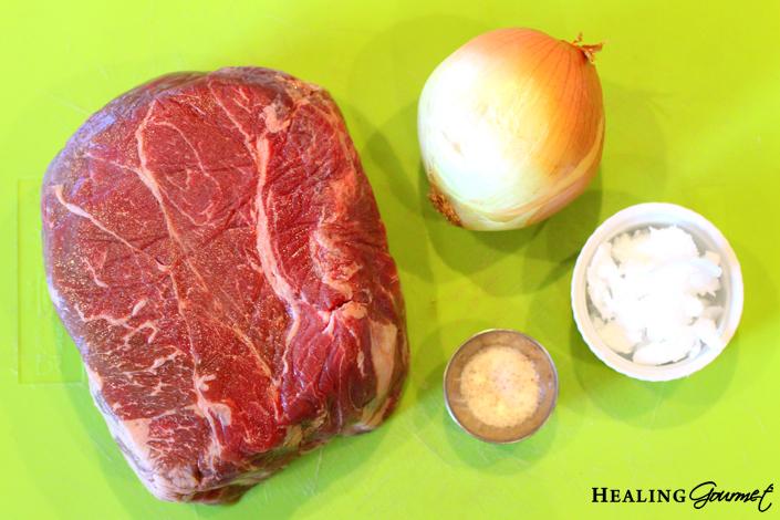 Fall-Apart Pressure Cooker Pot Roast Ingredients