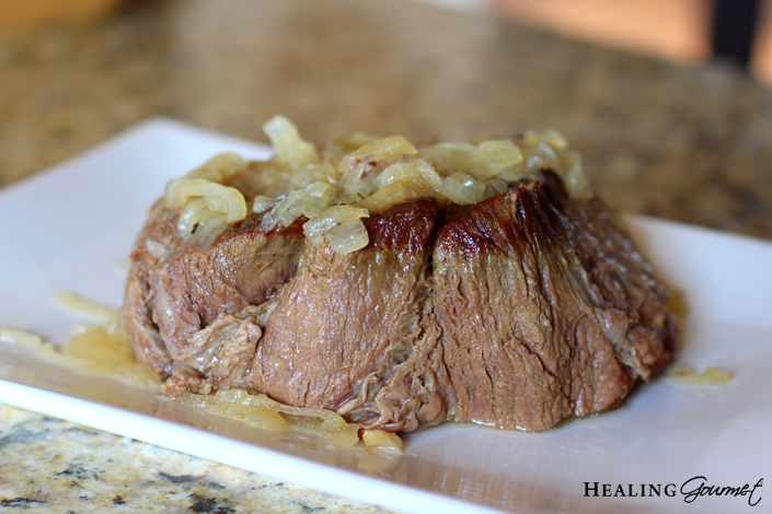 tenderized pressure cooker pot roast picture