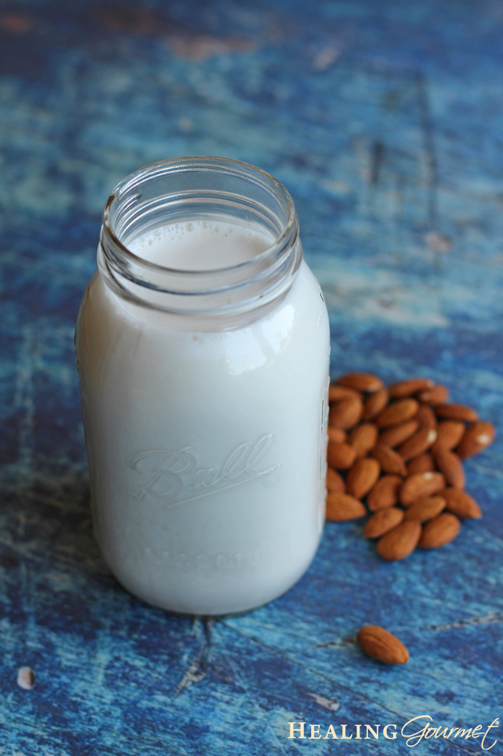 Quick and delicious Instant Pot Almond Milk