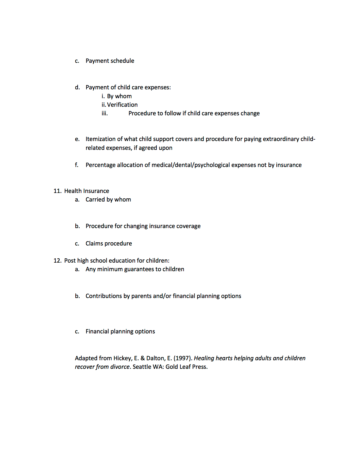 Worksheet Parenting Plan Worksheet Grass Fedjp Worksheet