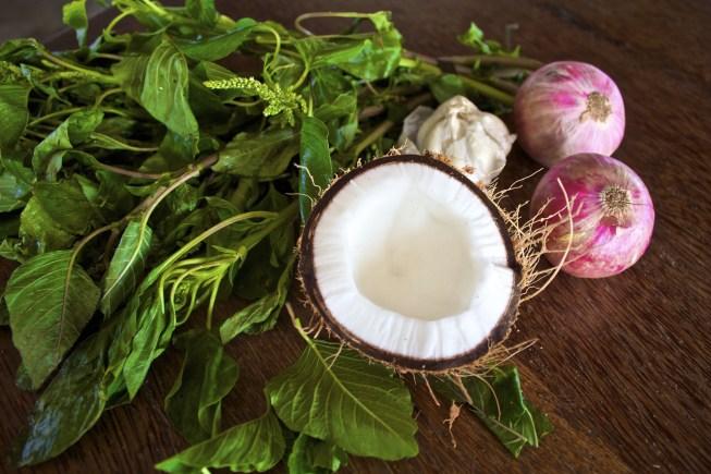 antihistamine amaranth greens
