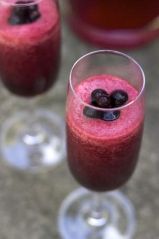 antihistamine & anti-inflammatory hibiscus smoothie