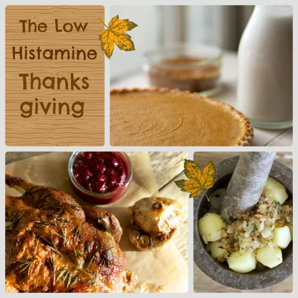 low histamine thanksgiving