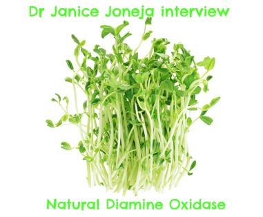 Dr Joneja: natural diamine oxidase for histamine intolerance