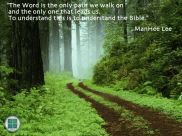 Word is the path