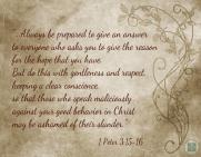 1 Peter 3v15-16