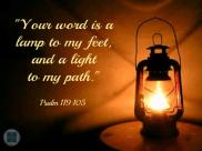 Psalm 119v105