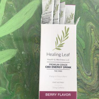 CBD Energy Drink from Healing Leaf in Greenville, SC