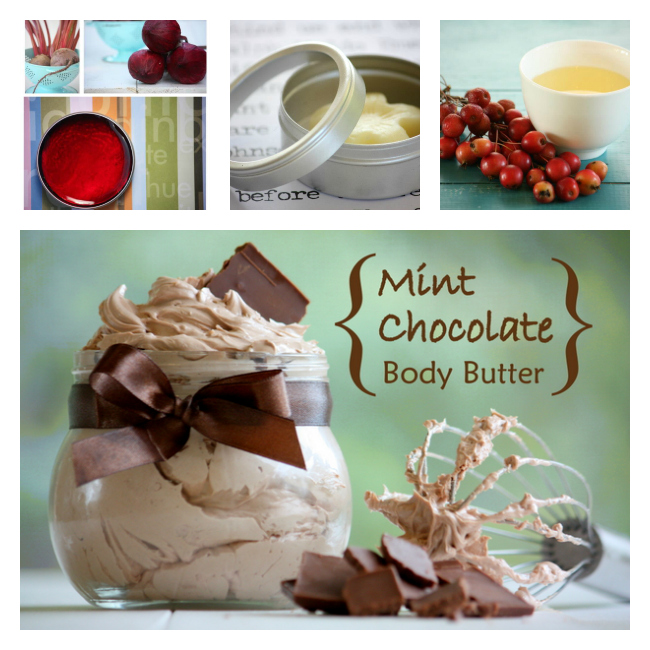 Some Goodies from DIY Natural Beauty Recipes ebook