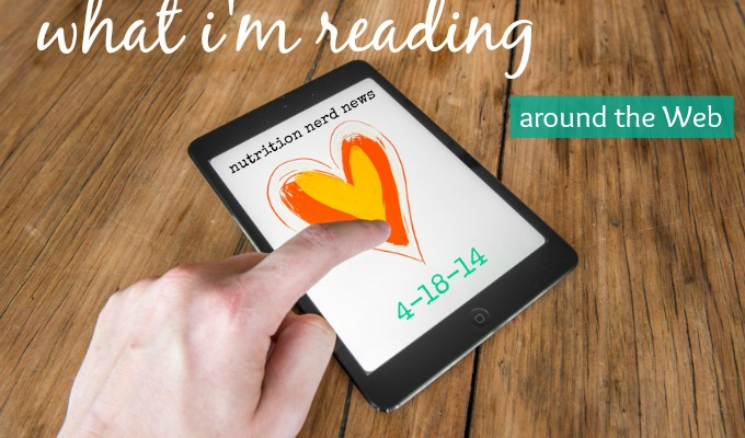What I'm Reading Around the Web 4-18-2014
