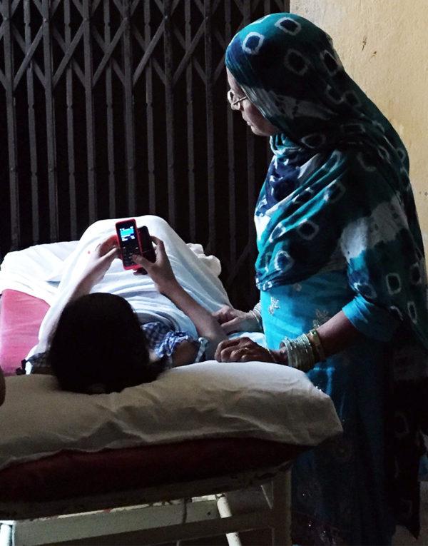spine surgery patient