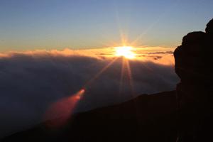 Sunrise at Haleakala, Maui, Hawaii